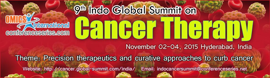 9th Indo Global Summit on Cancer Therapy