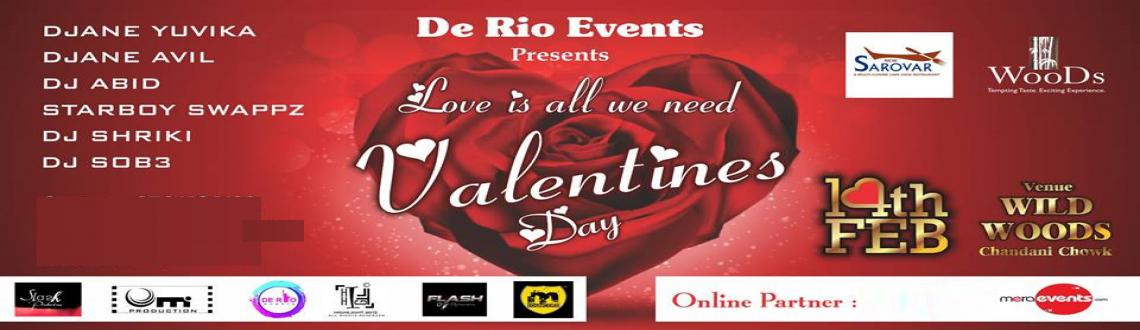 DE RIO EVENTS PRESENT LOVE IS ALL WE NEED VALENTINES DAY 2015