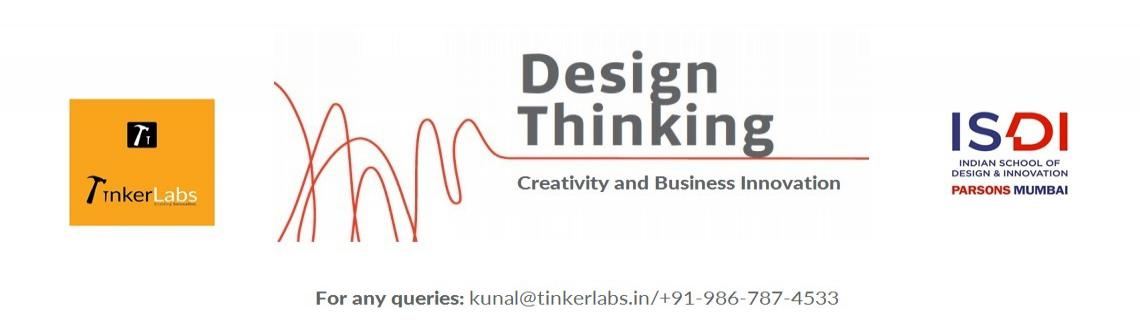 Book Online Tickets for Design Thinking for Creative Problem Sol, Mumbai. TinkerLabs in Association with ISDI presents 2 days of Enthusiatic and Engaging Workshop on Design Thinking for Creative Problem Solving. 