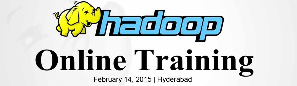 Book Online Tickets for Hadoop online Training , Hyderabad. Hadoop Training in Hyderabad being one of the leaders in Apache Hadoop Training training providers ensures each of the students gets their share of learning from the faculties who know the technology inside out.