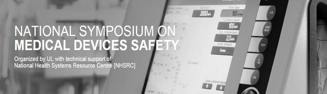 Book Online Tickets for One-day symposium on Medical Device Safe, NewDelhi. The value of safety and performance of medical devices cannot be overemphasized. While India ranks among the world's top 20 medical-device producing countries, the use of standards and safety practices has yet to reach the cultural norms experi