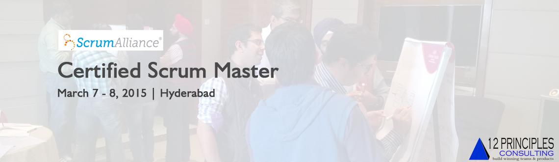 Book Online Tickets for Certified ScrumMaster (CSM) Hyderabad by, Hyderabad. Change Agent\\'s CSM Workshop