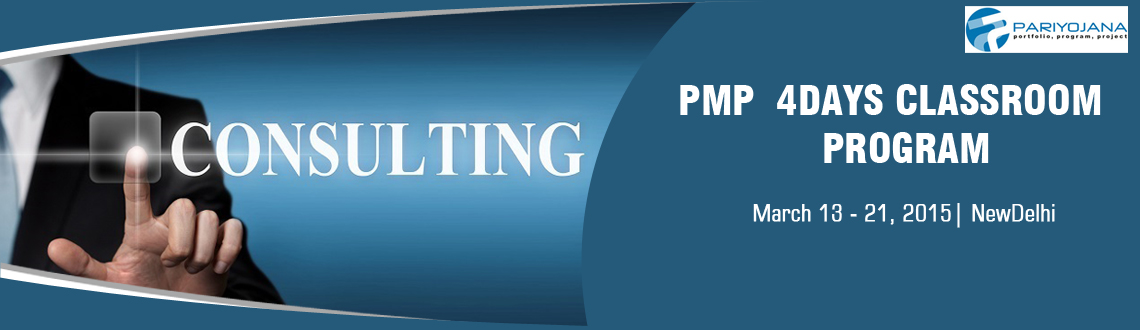 PMP DELHI MARCH 2015 CLASSROOM TRNG 4 DAYS
