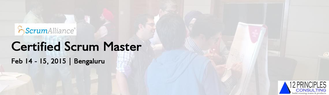 Weekend Certified Scrum Master (CSM) 21-Feb Bangalore by Naveen Nanjundappa