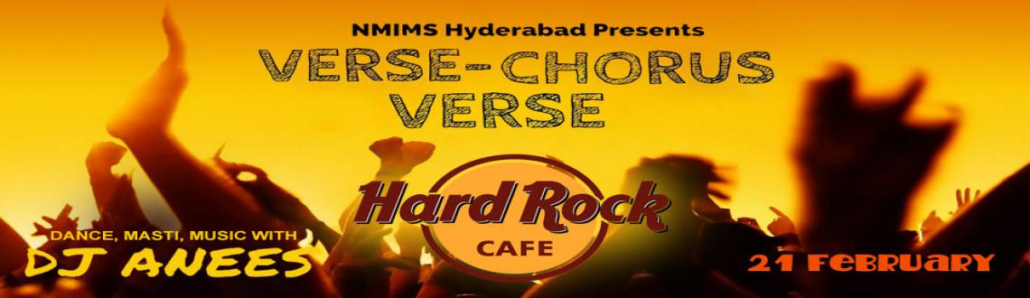 Verse Chorus Verse with DJ Anees at Hard Rock Cafe- Nirvahana- NMIMS Hyderabad