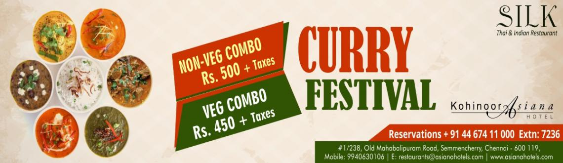 Book Online Tickets for Curry Festival, Chennai. 