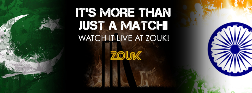 ICC World Cup : India V/S Pakistan LIVE At Zouk