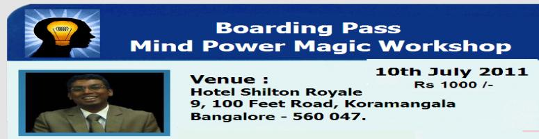 Book Online Tickets for MIND POWER MAGIC workshop using Neuro-li, Bengaluru. MIND POWER MAGIC WORKSHOP. 
