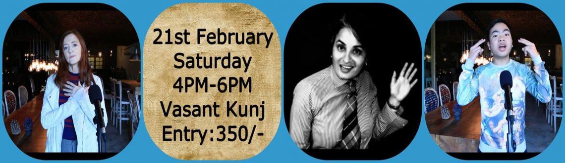 Delhi Poetry Slam Presents Live Poets Society Feat. Vasu Primlani