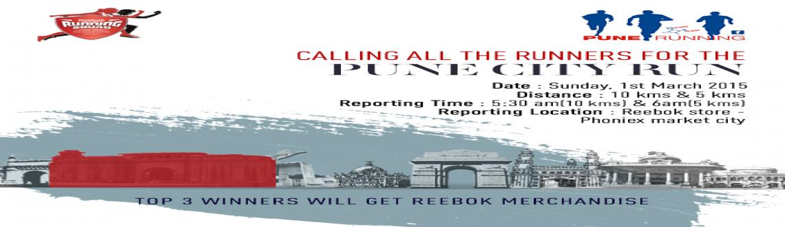 Reebok Running Squad City Run Pune Feb 2015 - LSOM