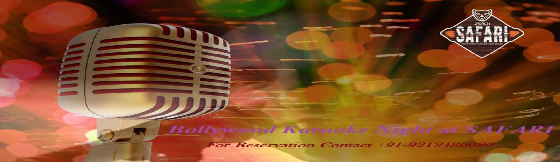 Bollywood Vintage Karaoke Night Event at Sarvam Safari, Connaught Place