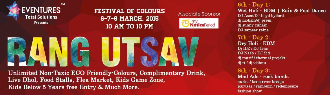 Book Online Tickets for Rang Utsav, Bengaluru.