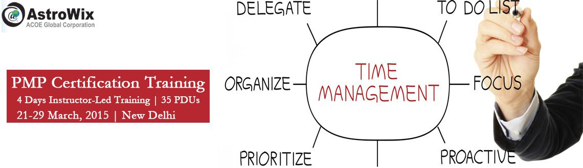 Develop Project Management Skills with PMP Certification Delhi