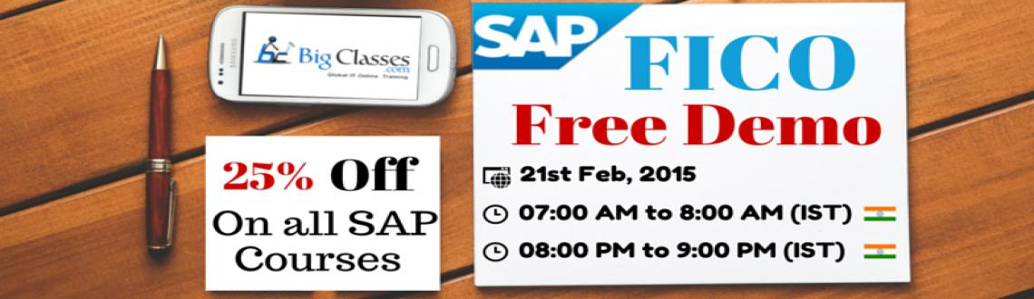 Attend Free Demo on SAP FICO Tomorrow
