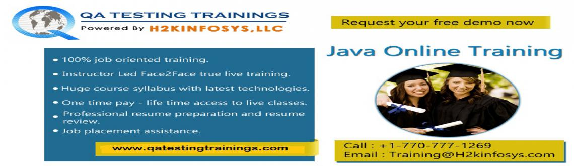 Java Online Training-Attend Free Demo