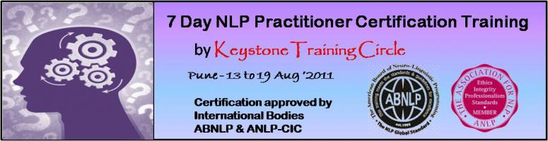 NLP Practitioner Certification Training (Pune) - Approved ...