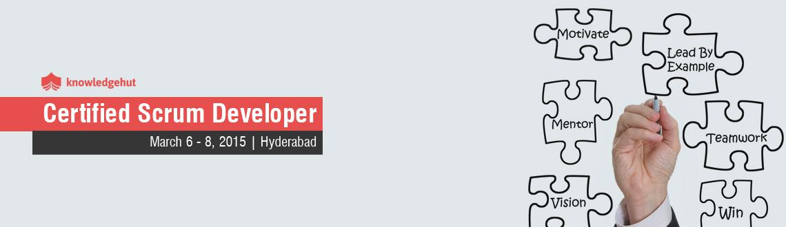 Certified Scrum Developer in Hyderabad