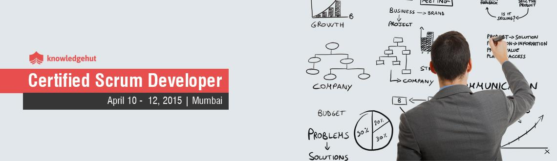 Book Online Tickets for Certified Scrum Developer in Mumbai, Mumbai.  http://www.knowledgehut.com/agile-management/certified-scrum-developer-technical-track-training-Mumbai