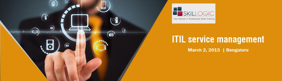 Book Online Tickets for Skillogic Free ITIL service management O, .  Online ITIL Free webinar    Join us for a free live ITIL webinar Session Attend the Skillogic ITIL Free Webinar session on  March 02, 2015 08 PM-09 PM  ITIL-Foundation is a certification holding the potential to be the bes