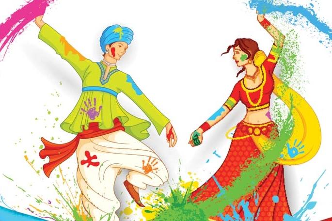 Holi Festival in Mathura Style at Delhi, CBD Ground, Karkardooma Copy