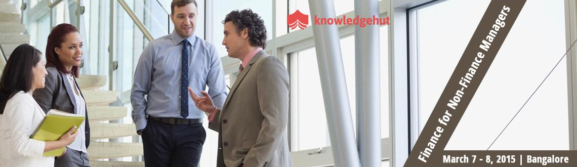 Book Online Tickets for Finance for Non-Finance Managers in Bang, Bengaluru.  