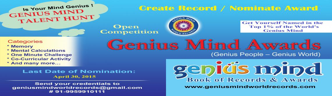 Genius Mind World Records and Awards 2015
