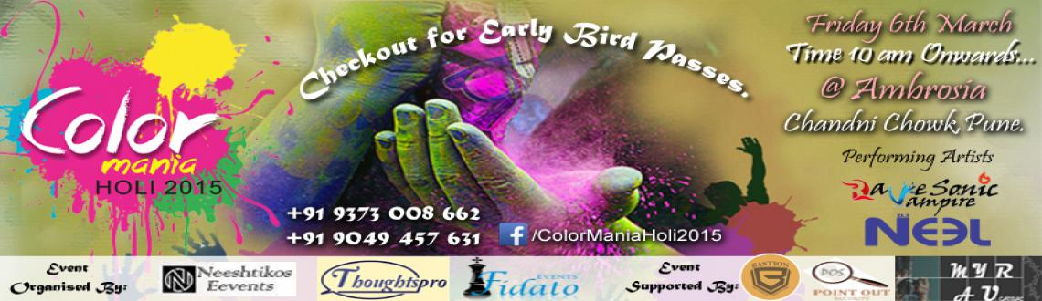 Color Mania Holi 2015