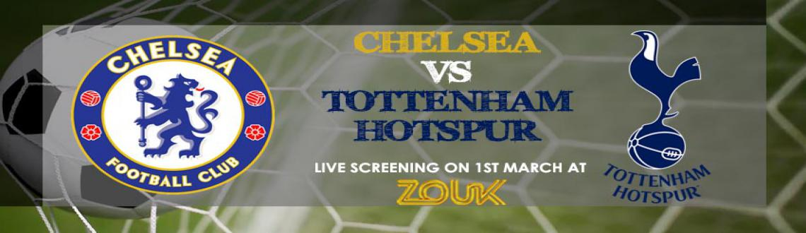 Book Online Tickets for Carling Cup Finals : Chelsea vs Spurs - , Mumbai. Chelsea and Tottenham Hotspur will battle it out on the famous turf in Sunday's Capital One Cup Final and fans can give their team a massive boost by lighting up Wembley in blue or white.