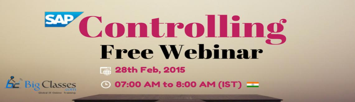 Join  Free Webinar on SAP Controlling This Saturday
