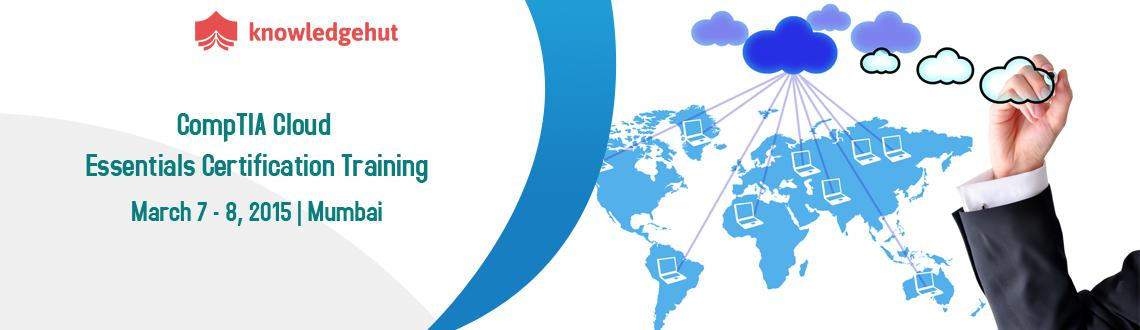 Book Online Tickets for CompTIA Cloud Essentials Certification T, Mumbai.  http://www.knowledgehut.com/information-technology/cloud-computing-certification-training-Mumbai  Course Overview:The CompTIA Cloud Essentials certification is a part of the CompTIA specialty series. Cloud computing is clearly t