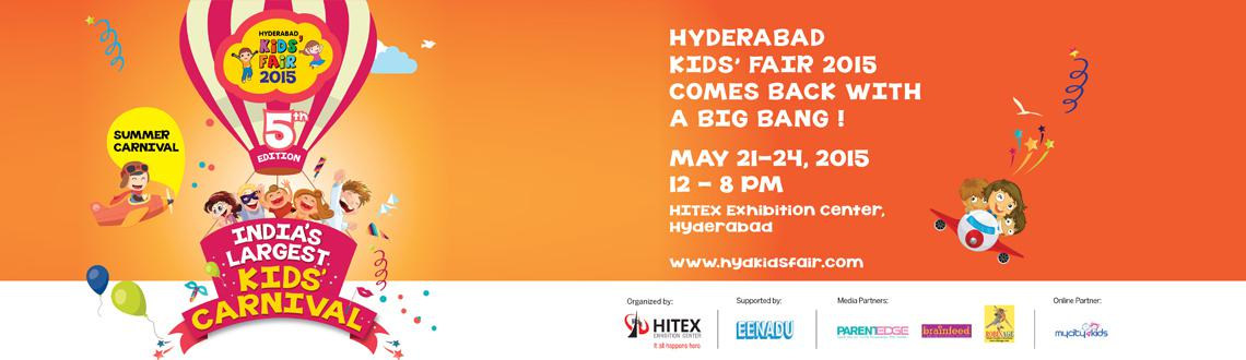Hyderabad Kids Fair 2015