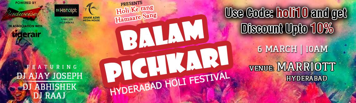Balam Pichkari 2015 - Holi Party at The Mariott