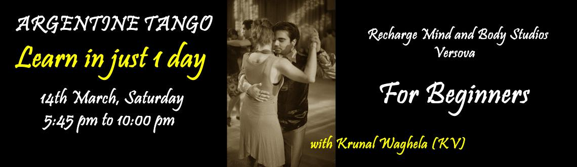 Learn Argentine Tango in one day