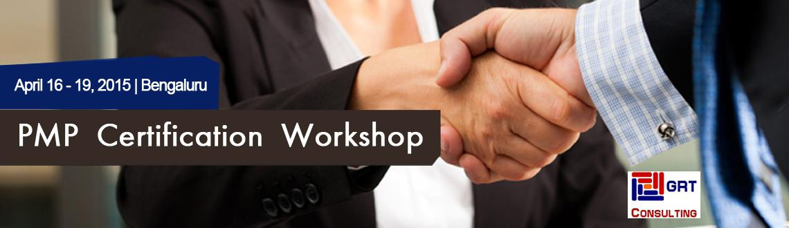 Book Online Tickets for PMP Certification Workshop, Bengaluru. Greetings to you from GRT Consulting.