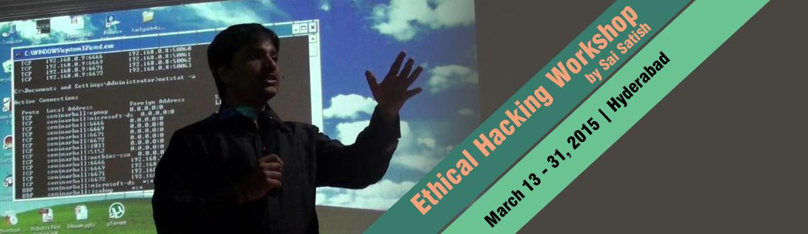 Ethical Hacking Workshop by Sai Satish