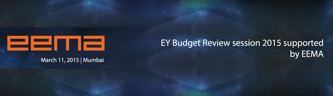 EY Budget Review session 2015 supported by EEMA