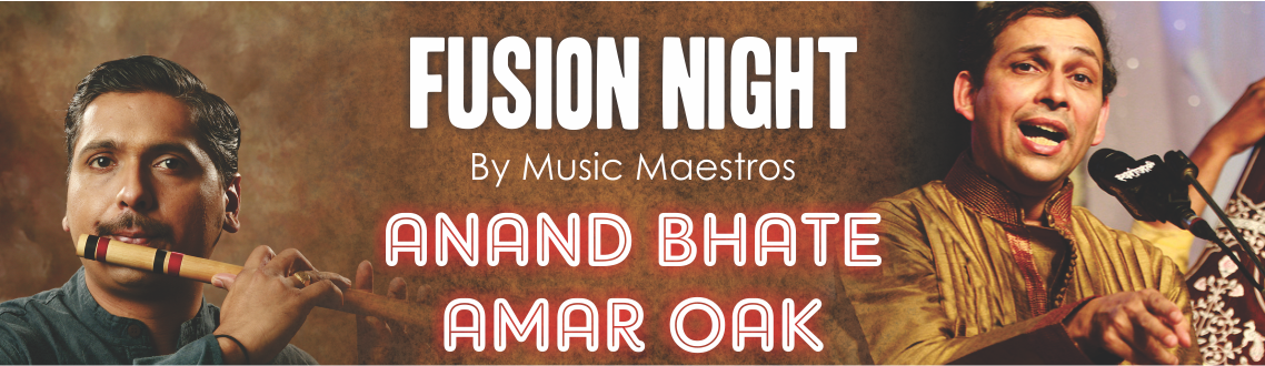 Fusion Concert By Anand Bhate  Amar Oak