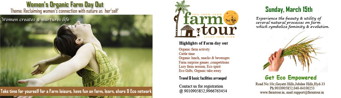 Womens Organic Farm Day out- March 15th