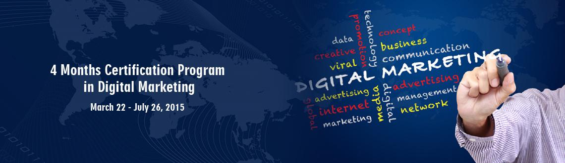 4 Months Certification Program in Digital Marketing(CPDM)-(International)
