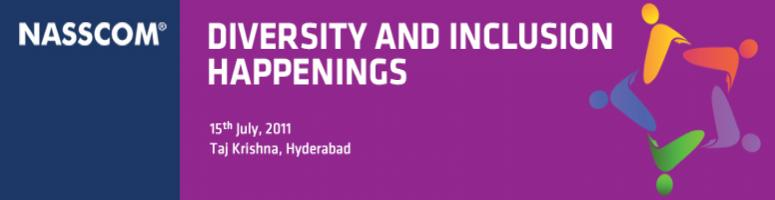 Book Online Tickets for Building an Inclusive Work Environment: , Hyderabad. This 'NASSCOM Diversity & Inclusion Happening' focuses on 'Building an Inclusive Work Environment'.We will examine proven and successful strategies for gender, cultural, generational and people with disabilities and h