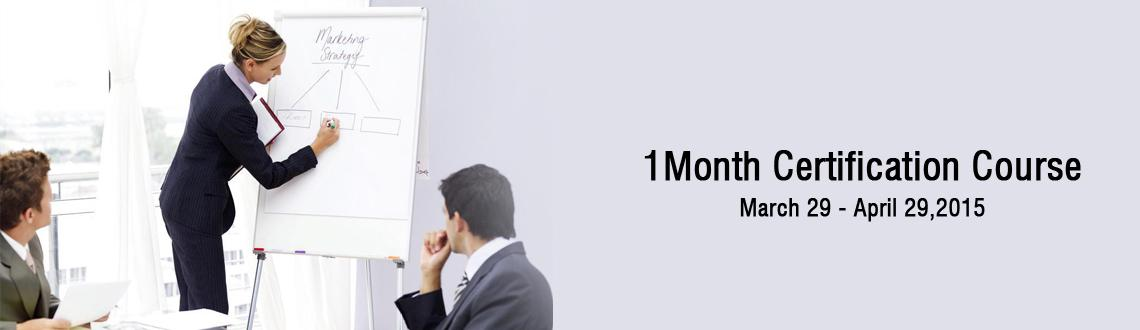 1 Month Certification Course-(International)