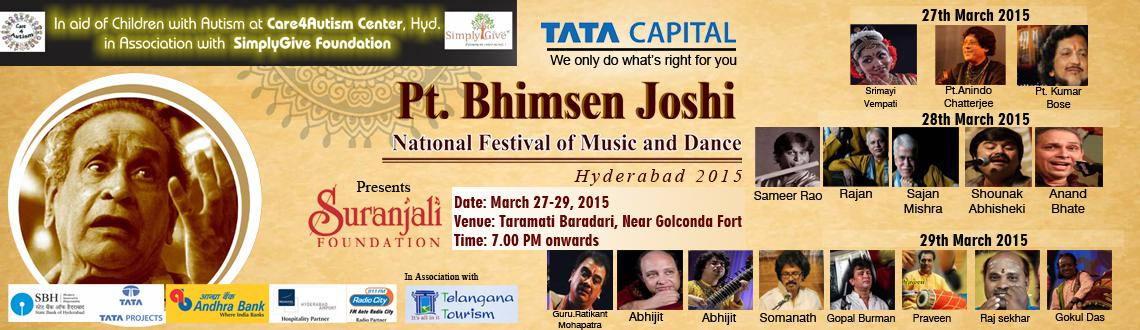 Pt.Bhimsen Joshi National Festival of Music and Dance 2015