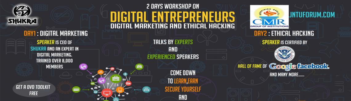 Book Online Tickets for Digital Entrepreneurs - Unlimited Skills, Hyderabad. Shukra proudly presents an independent hands-on workshop on Digital Marketing and Ethical Hacking, a hands-on workshop where each topic will be explained and each step shown in detail and where the participants can also bring their laptops and practi