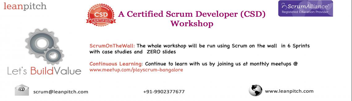 Lets BuildValue - Bangalore : CSD Workshop + Certification by Leanpitch : May 8-10