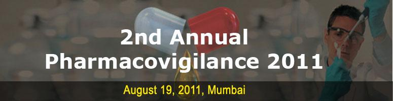 Book Online Tickets for 2nd Annual Pharmacovigilance 2011, NewDelhi.  Conference Info At the outset, a very cordial and warm  invitation is being extended to all who attended the Pharmacovigilance  Conference in the year 2010 and its representatives for the Conference  to be held in early 2011. The pharmaceutical i