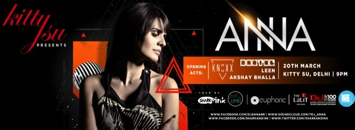 kitty Su presents Dj Anna : Nightlife Events