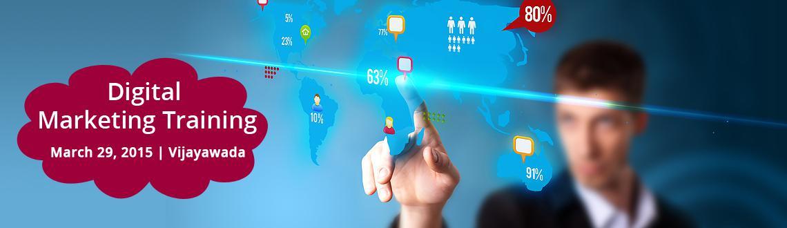 Book Online Tickets for Digital Marketing Training Vijayawada, Vijayawada. DETAILS  \\\