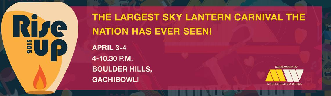 Rise Up 2015 - The Largest Sky Lantern Carnival Nation