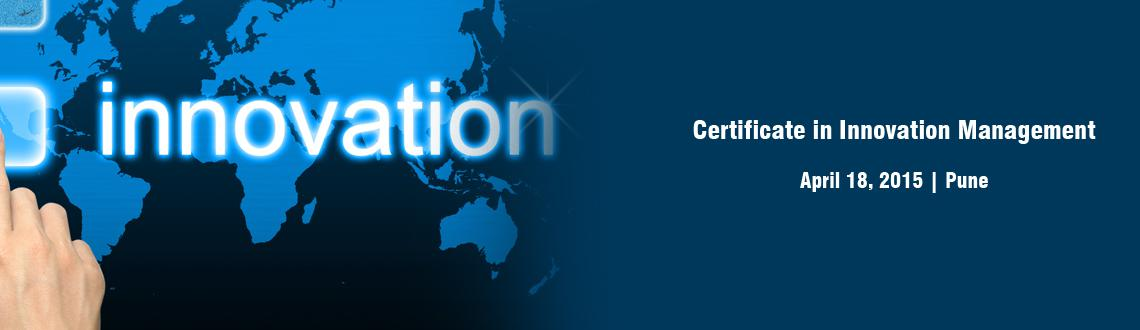 Certificate in Innovation Management - Pune