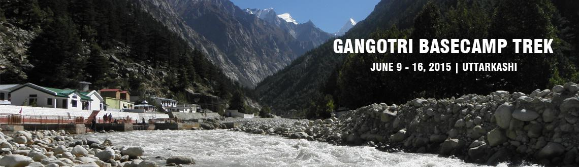 Book Online Tickets for Gangotri Basecamp Trek, Uttarkashi. The Gangotri groups of peaks are approached from Rudugaira Bamak (Glacier) and stand next to one another at the height of – Gangotri - I 6672 m, Gangotri - II 6590 m and Gangotri - III 6577m.